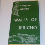 Readers Union Walls of Jericho by Margaret Wheeler 1950's hardback book @sold@